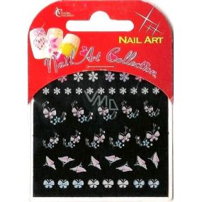Absolute Cosmetics Nail Art samolepící 3D nálepky na nehty GS17 1 aršík