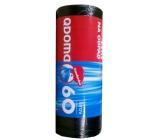 QDoma Sáčky do odpadkového koše černé 60 litrů, 60 x 70 cm, 50 kusů
