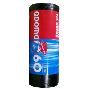 QDoma Pytle na odpad černé 60 l 60 x 70 cm 50 kusů