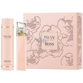 Hugo Boss Ma Vie pour Femme parfémovaná voda 75 ml + tělové mléko 200 ml, dárková sada