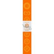 Vonné tyčinky Druhá čakra Oranžová 14 kusů
