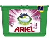Ariel 3v1 Touch of Lenor Fresh gelové kapsle na praní prádla 14 kusů