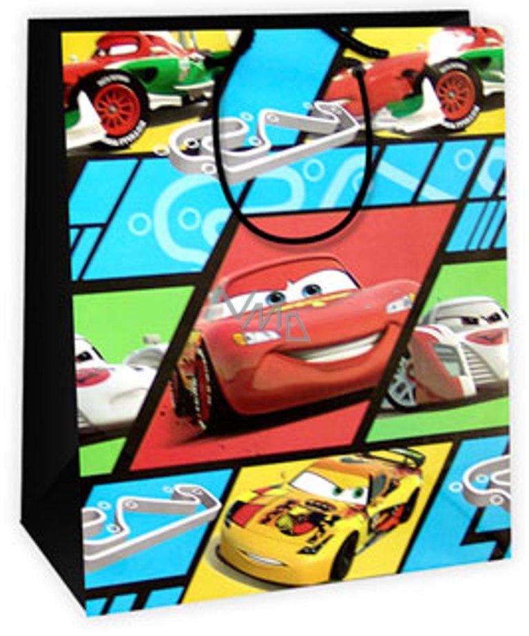 80d5dd3bafeb6 Ditipo Disney Dárková papírová taška dětská L Cars, Pasta Potenza 26,4 x 12  x 32,4 cm