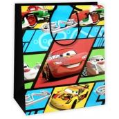 Ditipo Disney Dárková papírová taška dětská L Cars, Pasta Potenza 26,4 x 12 x 32,4 cm