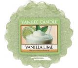 Yankee Candle Vanilla Lime - Vanilka s limetkou vonný vosk do aromalampy 22 g