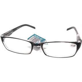 Berkeley Čtecí dioptrické brýle +1,0 černobílé 1 kus MC2147