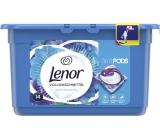 Lenor 3v1 Waterlily gelové kapsle na praní prádla 14 kusů 369,6 g
