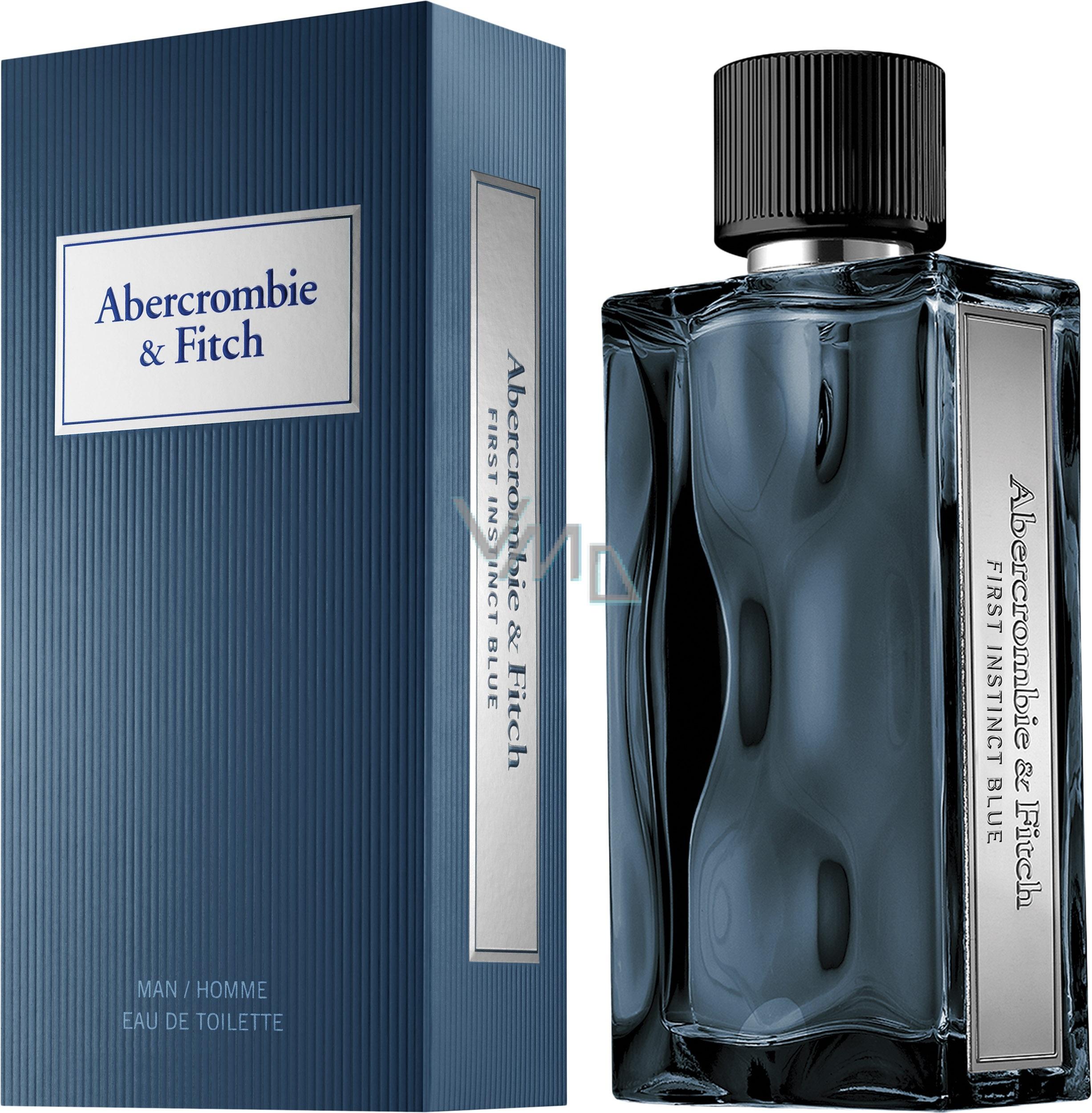 4ae7884da Abercrombie + Fitch First Instinct Blue Men EDT 50ml - VMD parfumerie -  drogerie