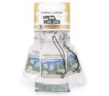 Yankee Candle Clean Cotton - Čistá bavlna Classic visačka do auta papírová sada 3 kusy x 12 g