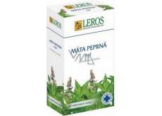 Leros Máta peprná nať bylinný čaj proti nadýmání, křečím, 20 x 1,5 g
