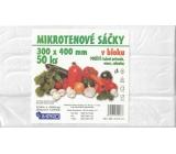 Impro Sáček mikroténový v bloku 30 x 40 cm 50 kusů