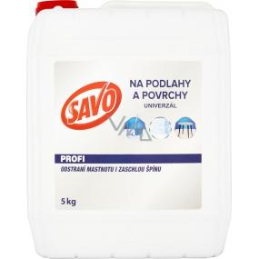 Savo Profi Univerzal čisticí prostředek na podlahy a plochy 5 kg