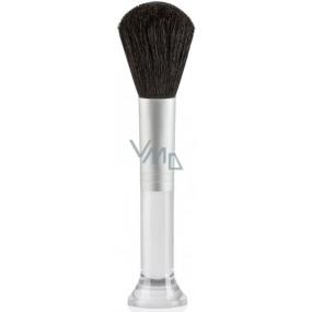 Diva & Nice Štětec kosmetický stříbrný 15,5 cm D4