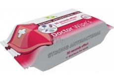 Doctor Wipes Antibacterial s obsahem chlorexidinu vlhčené antibakteriální ubrousky 72 kusů
