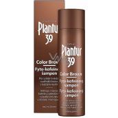 Plantur 39 Color Brown fyto-kofeinový šampon pro sytější hnědou barvu vlasů, proti vypadávání vlasů 250 ml