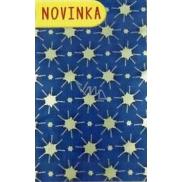 Nekupto Celofánový sáček Vánoční modrý 15 x 25 cm CI 175 40