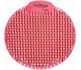 Fre Pro Slant Kiwi Grep vonné sítko do pisoáru růžové 18 x 18 x 1,5 cm 81 g
