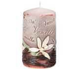 Emocio Vanilka Vanilla vonná svíčka válec 60 x 110 mm