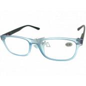 Berkeley Čtecí dioptrické brýle +2,0 plast světle modré, černé postranice 1 kus MC2184