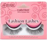 Absolute Cosmetics Fashion Lashes Umělé nalepovací řasy střední až dlouhé obloučkové černé 082 černé 1 pár