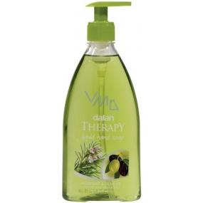 Dalan Therapy Rosemary & Olive Oil s olivovým olejem tekuté mýdlo dávkovač 400 ml