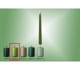 Lima Svíčka hladká metal světle zelená kužel 22 x 250 mm 1 kus