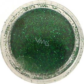Ocean Crystalina Sypký glitr na nehty, tělo, obličej zelený 1,5 g