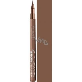 Catrice Longlasting Brow Definer dlouhotrvající pero na obočí 020 Flashy Brows 1 ml