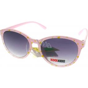 Dudes & Dudettes JK423 růžové sluneční brýle pro děti