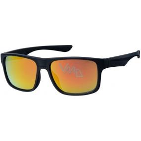 Nac New Age A20149 černé-barevná skla sluneční brýle