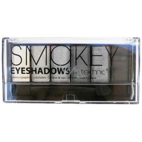 Technic Colour Smokey oční stíny 6´s