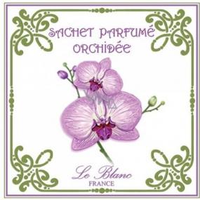 Le Blanc Orchidée Vonný sáček Orchidej 11 x 11 cm 8 g