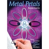 If Metal Petals Bookmarks Kovové záložky 4 x 1,5 cm 8 kusů