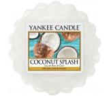 Yankee Candle Coconut Splash - Kokosové osvěžení vonný vosk do aromalampy 22 g