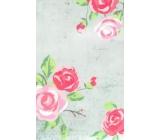 Nekupto Buď Jedinečná dárková papírová taška malá 17,5 x 11 x 8 cm květy 001 HBS