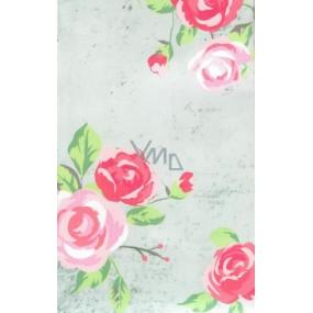 Nekupto Buď Jedinečná dárková papírová taška malá 17,5 x 11 x 8 cm květy