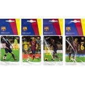 FC Barcelona Sport energy aromatická vonná karta do auta náhodný výběr expirace 10/2017