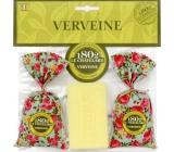 Le Chatelard Verbena a citron vonný pytlíček 2 x 18 g + toaletní mýdlo 100 g, dárková sada