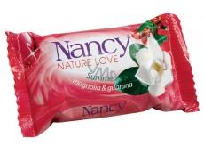 Nancy Summer Magnolia & Guarana toaletní mýdlo 100 g