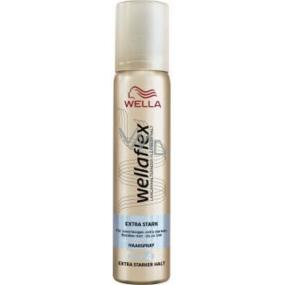Wella Wellaflex Extra Stark extra silné zpevnění s leskem lak na vlasy 75 ml
