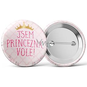 Nekupto Placka Jsem princezna, Vole! 5,5 cm