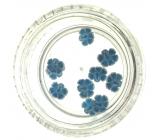 Professional Ozdoby na nehty květina modré 132