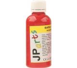 JP arts Barva na textil na světlé materiály, základní odstíny 3. Červená 50 g