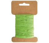 Lýko papírové zelené šířka 2 cm, 10 m