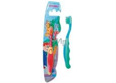Abella Buddy Kids střední zubní kartáček různé barvy pro děti 1 kus