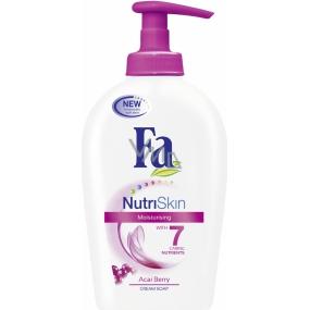 Fa NutriSkin Moisturising Acai Berry tekuté mýdlo dávkovač 300 ml