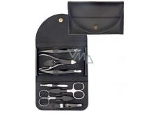 Kellermann 3 Swords Luxusní manikúra 7 dílná Genuine Leather z pravé kůže L58171FN