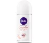 Nivea Powder Touch kuličkový antiperspirant deodorant roll-on pro ženy 50 ml