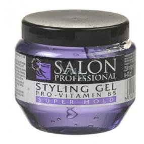 Salon Professional Pro-Vitamin B5 Super Hold gel na vlasy 250 ml