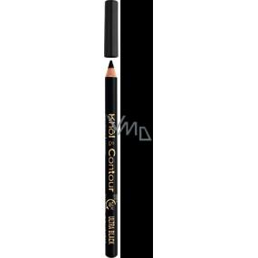Bourjois Khol & Contour tužka na oči 71 Ultra Black 1,14 g